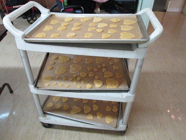 Valentines Day Cookie Trays